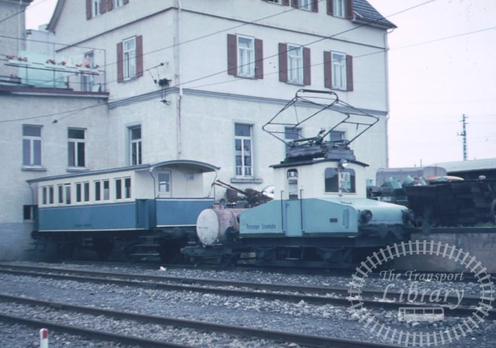 Switzerland Trossingen Eisenbahn Electric Locomotive  at Unknown location in 1970s - Mike Reynolds