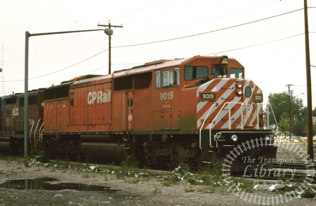 CP Rail Diesel Locomotive 909  in 1996 - Mike Reynolds