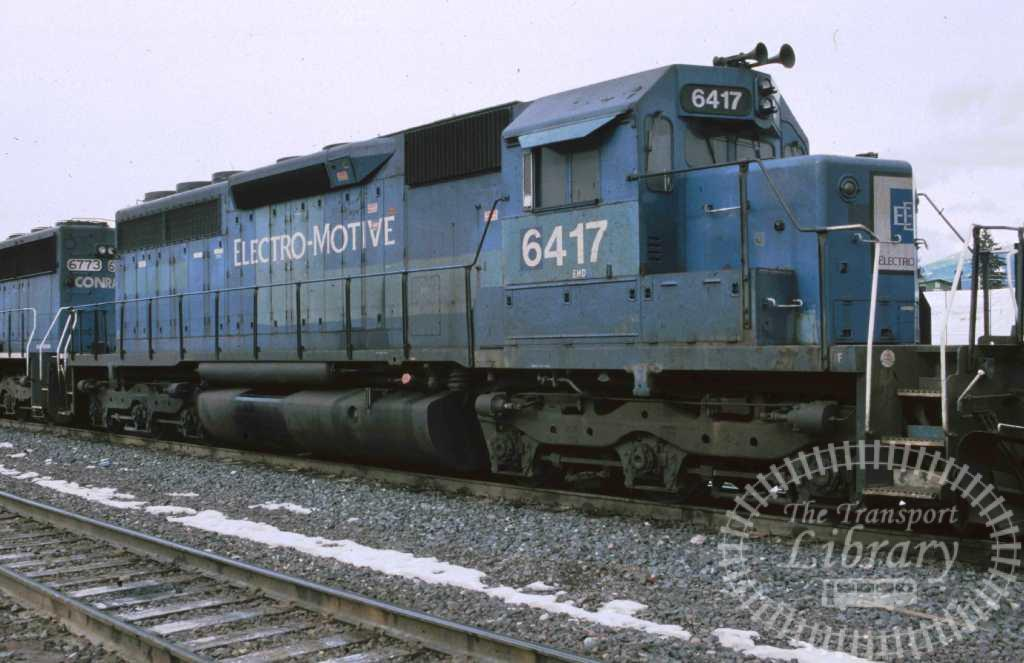 Electro Motive Diesel Locomotive 6417  in 1999 - Mike Reynolds