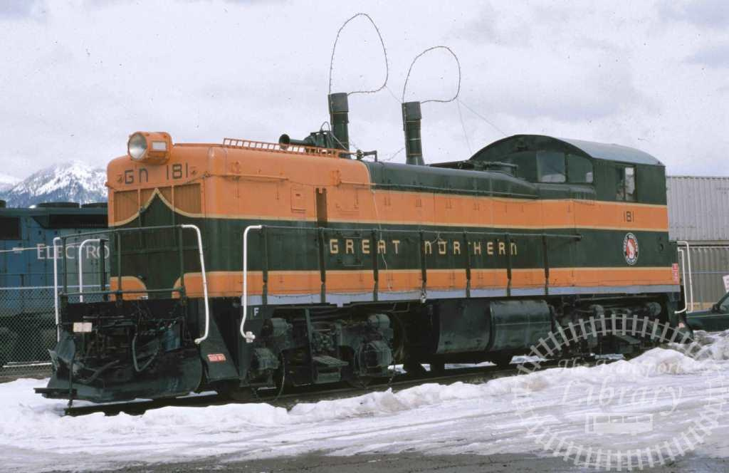Great Northern Diesel Locomotive 181  in 1999 - Mike Reynolds