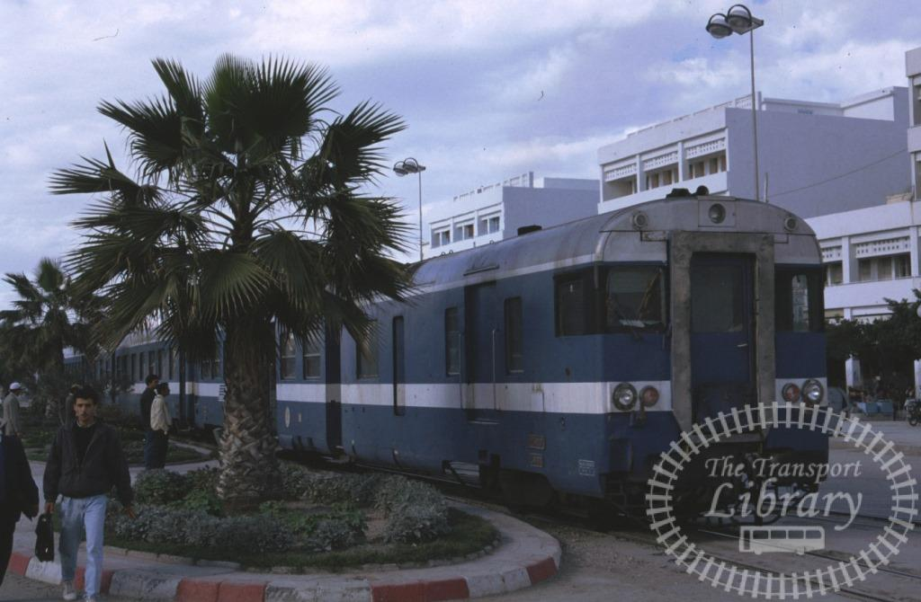 SNCFT Tunisia Railways Rolling Stock  at Sousse in 2003 - Mike Reynolds