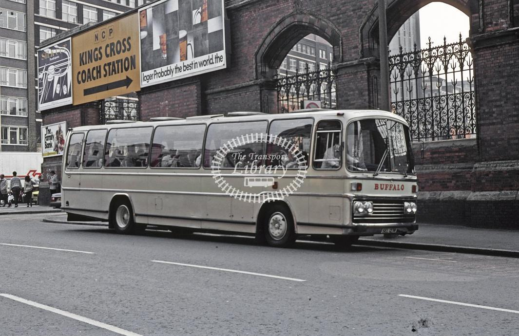 Group Travel, Flitwick Ford R1114 SEL127R at London King's Cross in 1982 - May 1982 - Roy Marshall