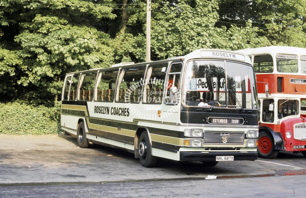 Ede, Parr Leyland TRCTL NAL687X at Tenby in 1984 - May-84 - Roy Marshall