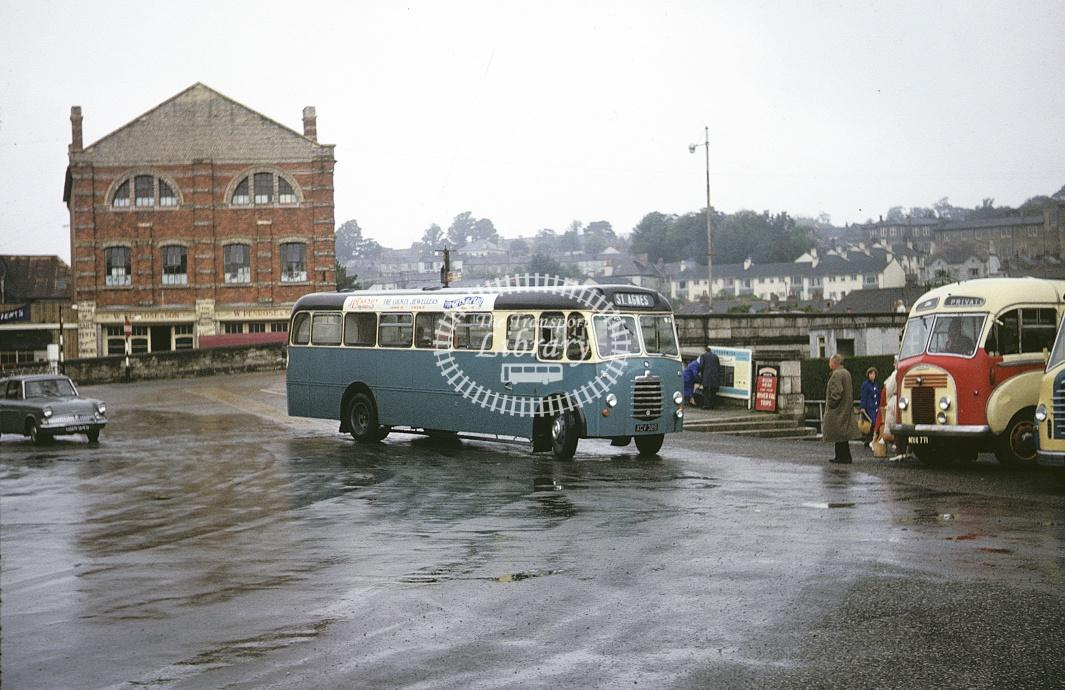 Harper and Kellow, St Agnes Bedford SB XCV326 at Truro in 1963 - Jul 1963 - Roy Marshall