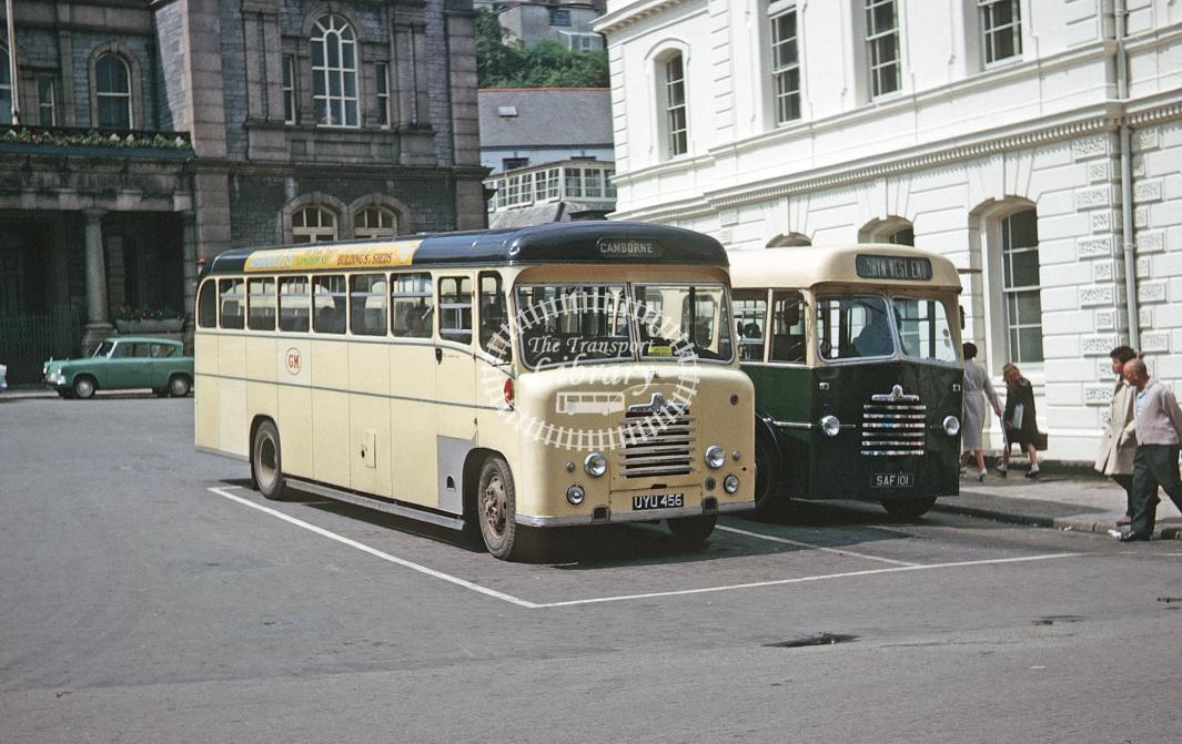 Grenville, Camborne Bedford SB UYU456 at Falmouth in 1963 - Jul 1963 - Roy Marshall