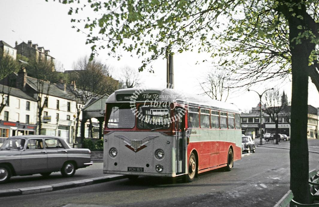 Grenville, Camborne Leyland PSUC1/1 VCH169 at Falmouth in 1972 - Apr 1972 - Roy Marshall