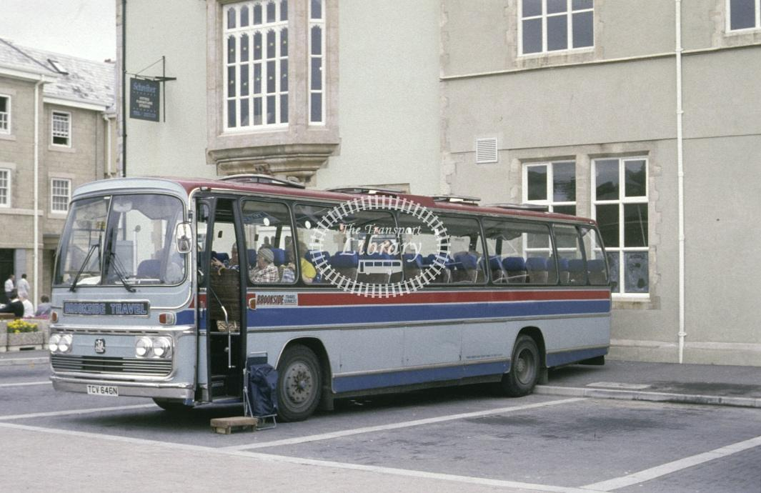 Thomas, Brookside Bedford TCV646N at Truro in 1991 - Jul 1991 - Roy Marshall