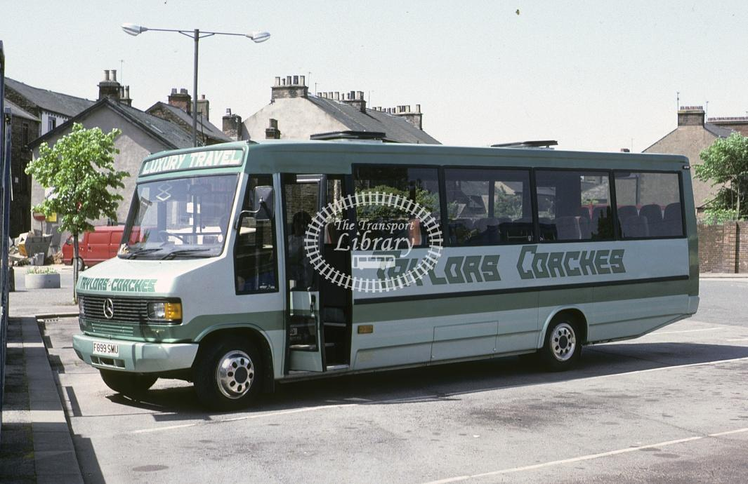Taymoor, Gt Strickland Mercedes F899SMU at Penrith in 1992 - May 1992 - Roy Marshall