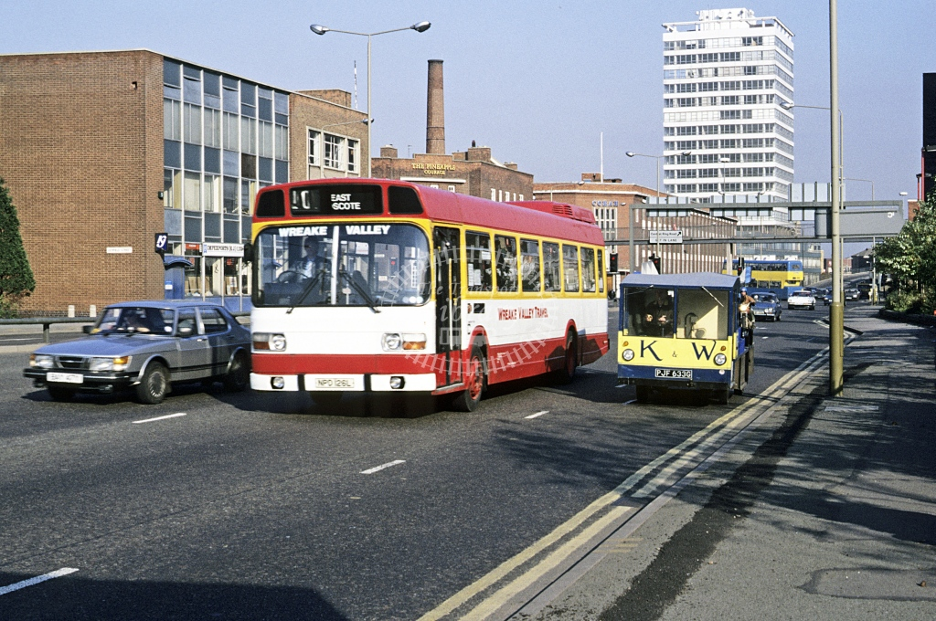 Wreake Valley, East Goscote Leyland National NPD126L  at Leicester  in Undated -  - Roy Marshall