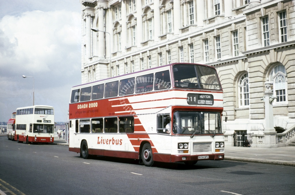 LiverBus, Huyton Leyland ONTYL B694BPU at Liverpool in 1994 - Jun 1994 - Roy Marshall