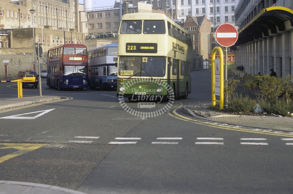 Mersey Pride (Forrest),  Bootle Leyland AN68 JKW312W at Liverpool in 1996 - Dec 1996 - Roy Marshall