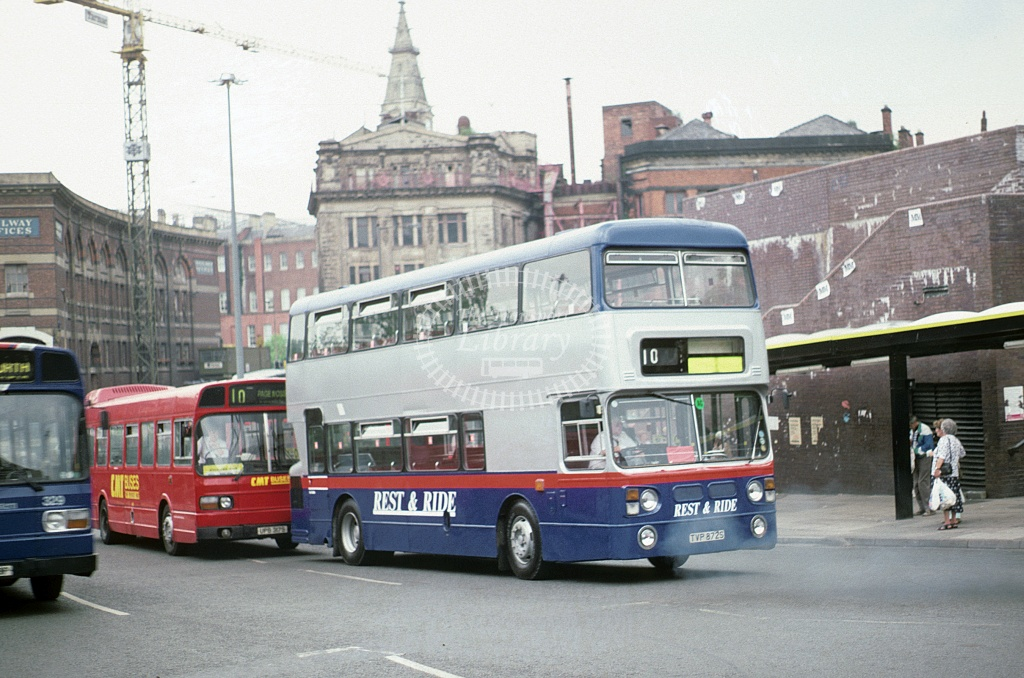 Rest a Ride, Aintree Leyland FE30 TVP872S at Liverpool in 1994 - Jun 1994 - Roy Marshall