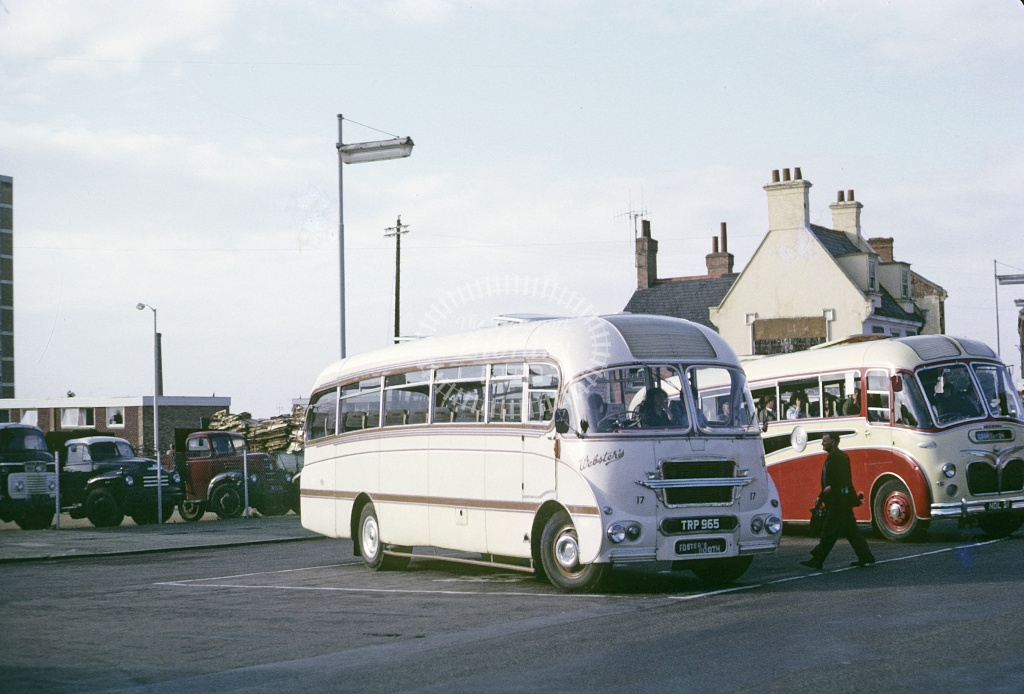 Webster, Pattishall/Eastcote Ford Thames TRP965 at Northampton in 1966 - Sep 1966 - Roy Marshall