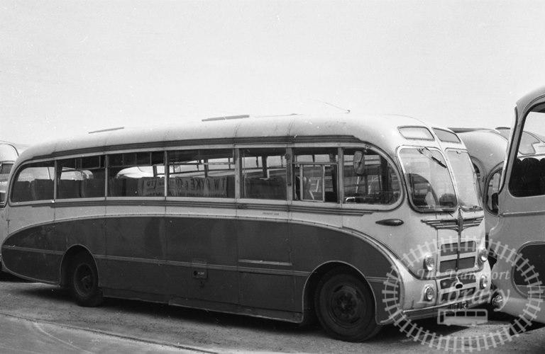 Saltburn Motor Services Bedford SBG 15 UTJ52 at Saltburn Area in 1969 on route Unknown - Neville Stead Collection