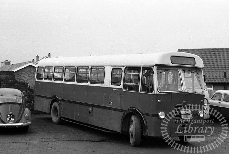 Saltburn Motor Services Bedford Single Decker GAJ901 at Saltburn Area in 1970 on route Unknown - Neville Stead Collection