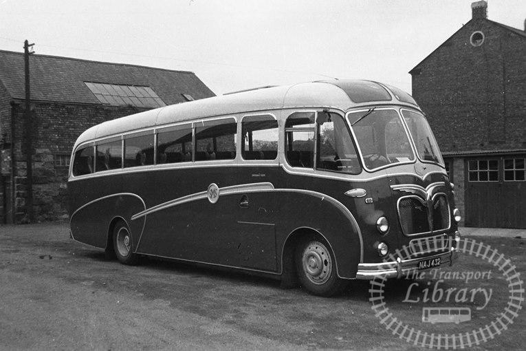 Saltburn Motor Services Leyland ECP02/1R 36 NAJ432 at Saltburn Area in 1965 on route Unknown - Neville Stead Collection