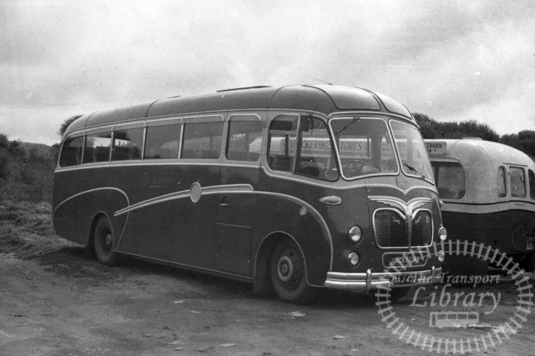 Saltburn Motor Services Leyland ECP02/1R 36 NAJ432 at Saltburn Area in 1969 on route Unknown - Neville Stead Collection