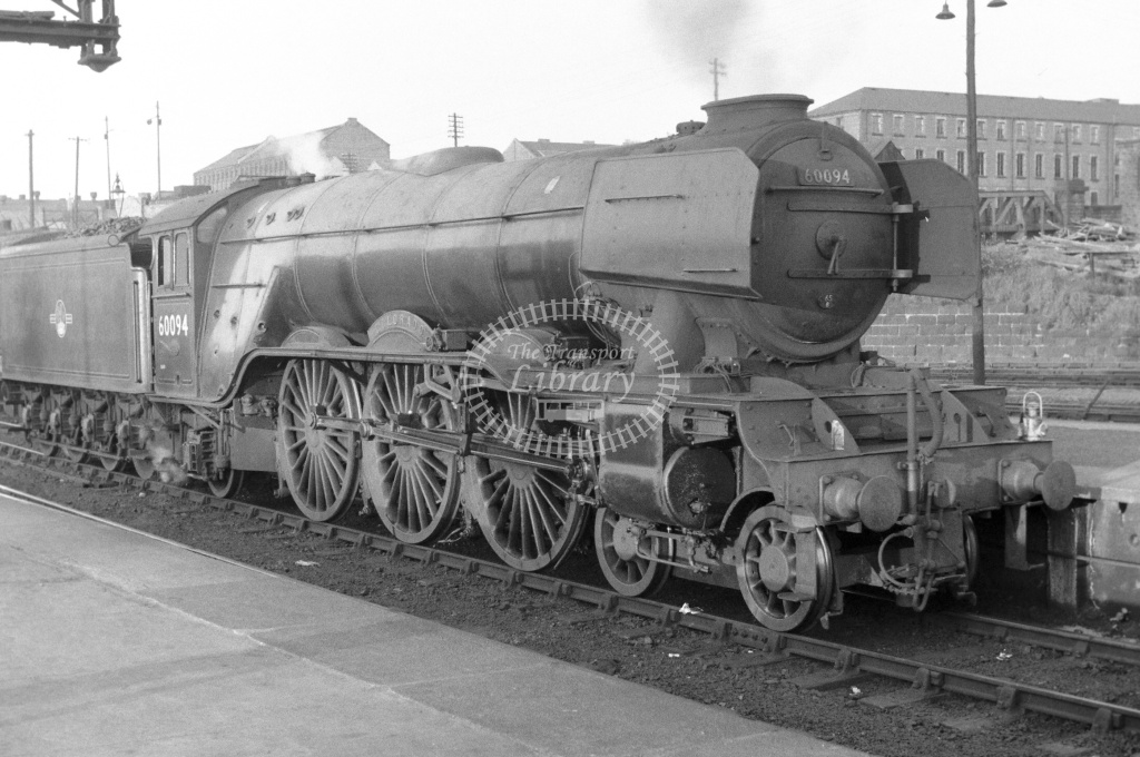 BR British Railways Steam Locomotive Class A3 60094  at Glasgow Buchanan St. in 1963 - 01/06/1963 - Neville Stead Collection
