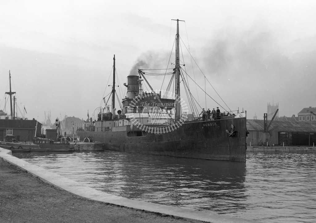 Steamship  at Humber Dock in 1959 - 25/03/1959 - Neville Stead Collection