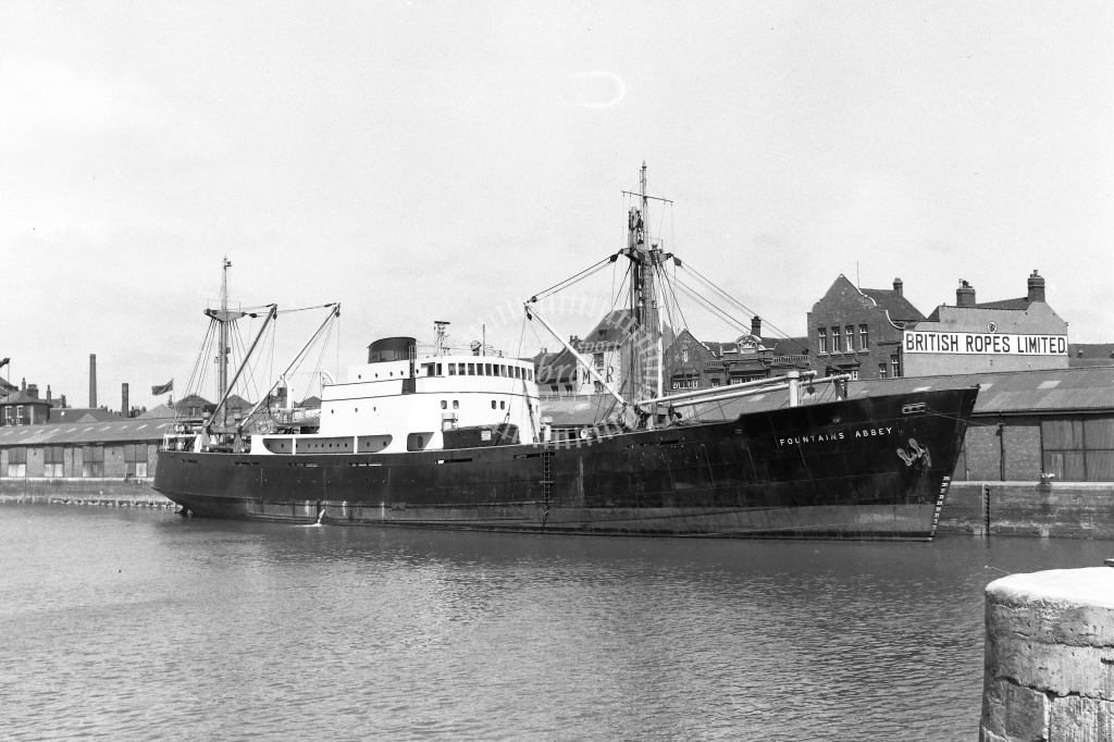 Motor vessel  at Humber Dock in 1959 - 17/05/1959 - Neville Stead Collection