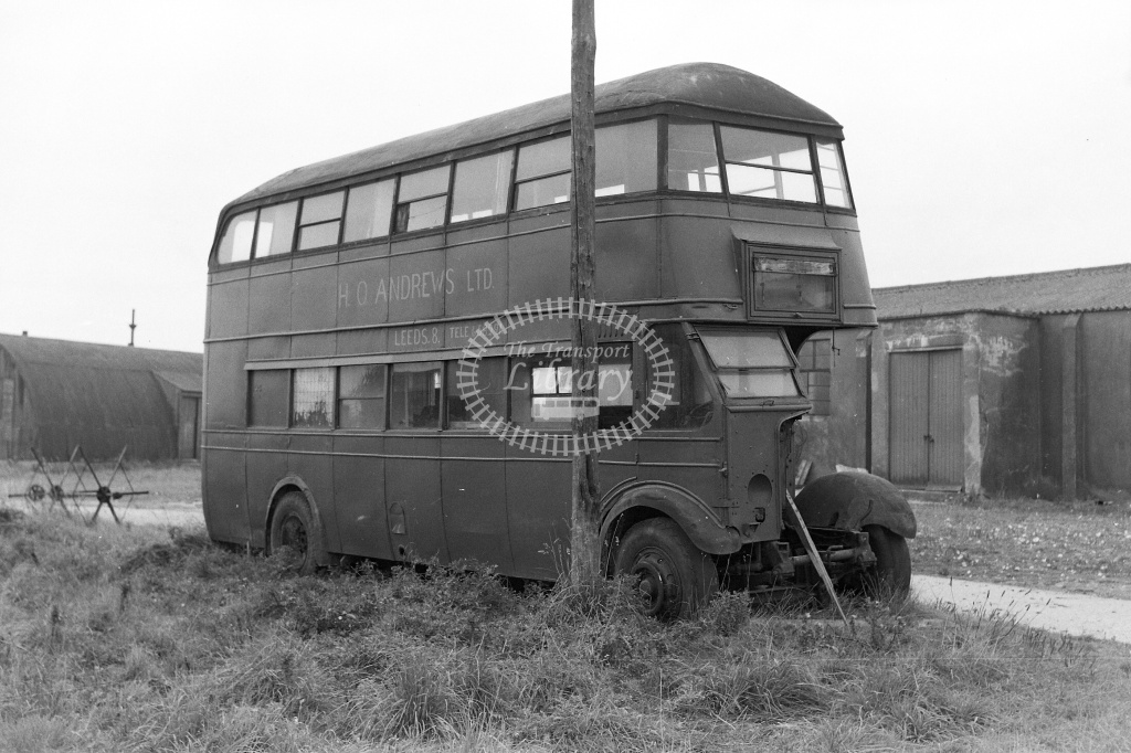 East Yorkshire 270  at Hutton Cranswick in 1959 - 20/09/1959 - Neville Stead Collection