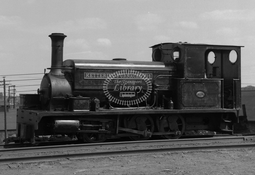 Industrial Steam Locomotive Class ng 0-6-0SToc 8/MW 1675/06  at Kettering Furnaces in 1958 - 18/07/1958 - Neville Stead Collection