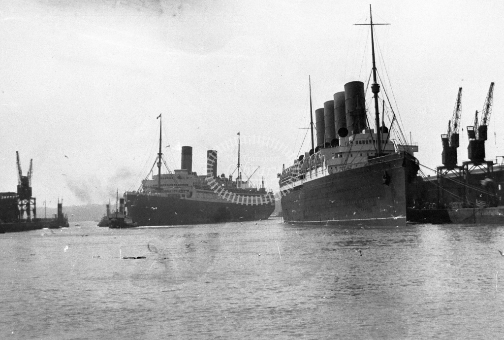 Cunard RMS  in Undated - Neville Stead Collection