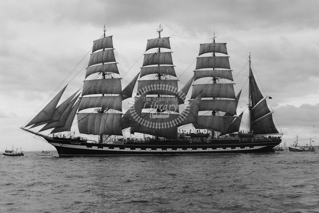 Sailing ship  at Tynemouth in 1986 - 19/07/1986 - Neville Stead Collection