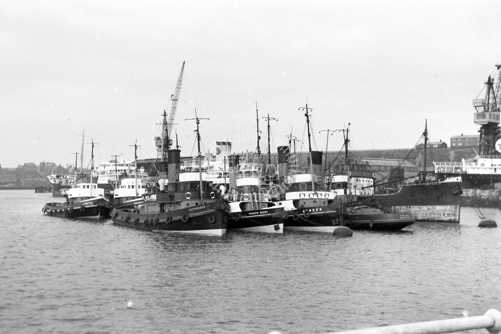 Tugs Class Various  at North Shields in Undated - Neville Stead Collection