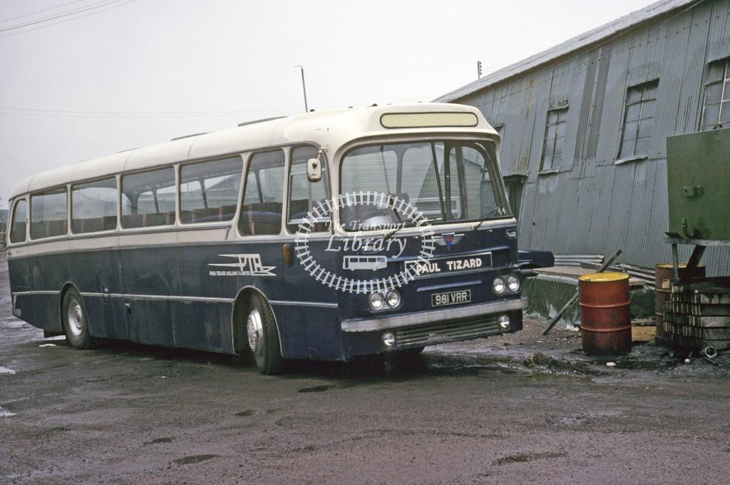 Edwards, Joys Green AEC Reliance 981VRR at Depot/Garage in 1979 - May-79 - Roy Marshall