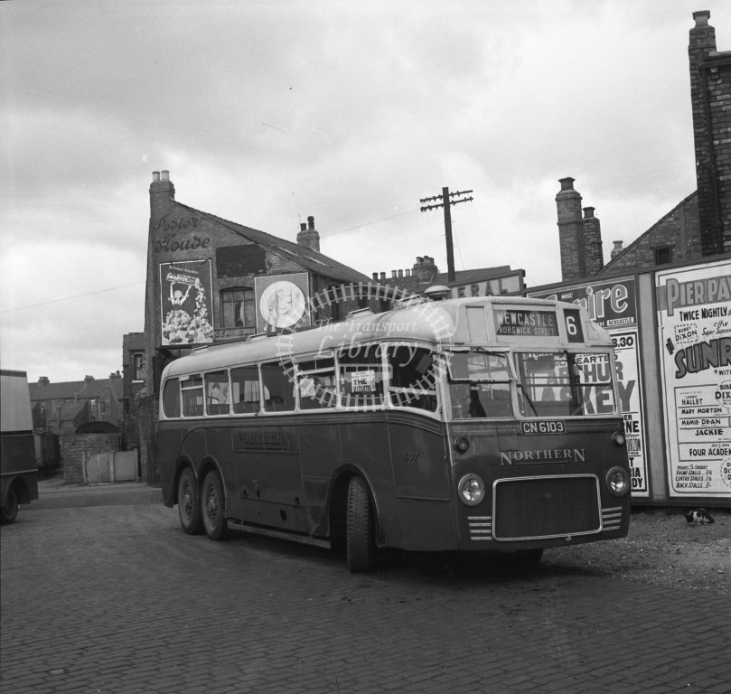 HL-B0158 - Northern 607 CN6103 route 6 - Henry Luff - Online Transport Archive