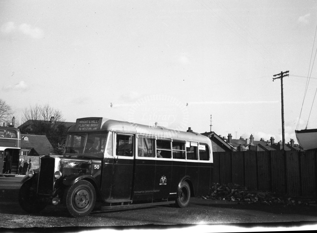 HL-B0166 - Southampton 50 OW7312 - Henry Luff - Online Transport Archive