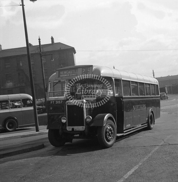 HL-B0170 - Northern 1162 FT3157 route 25 - Henry Luff - Online Transport Archive