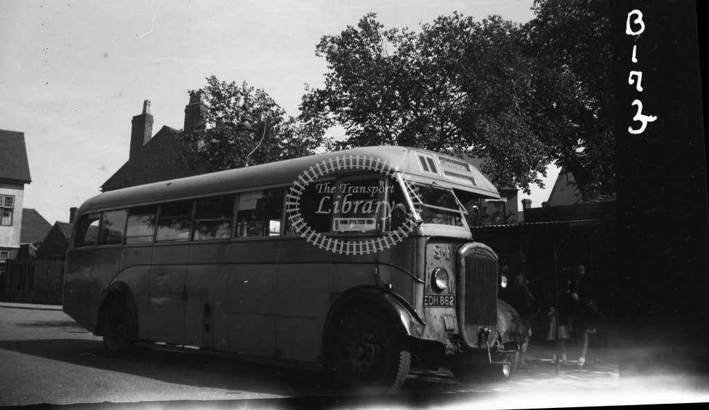 HL-B0173 - Walsall 84 EDH862 - Henry Luff - Online Transport Archive