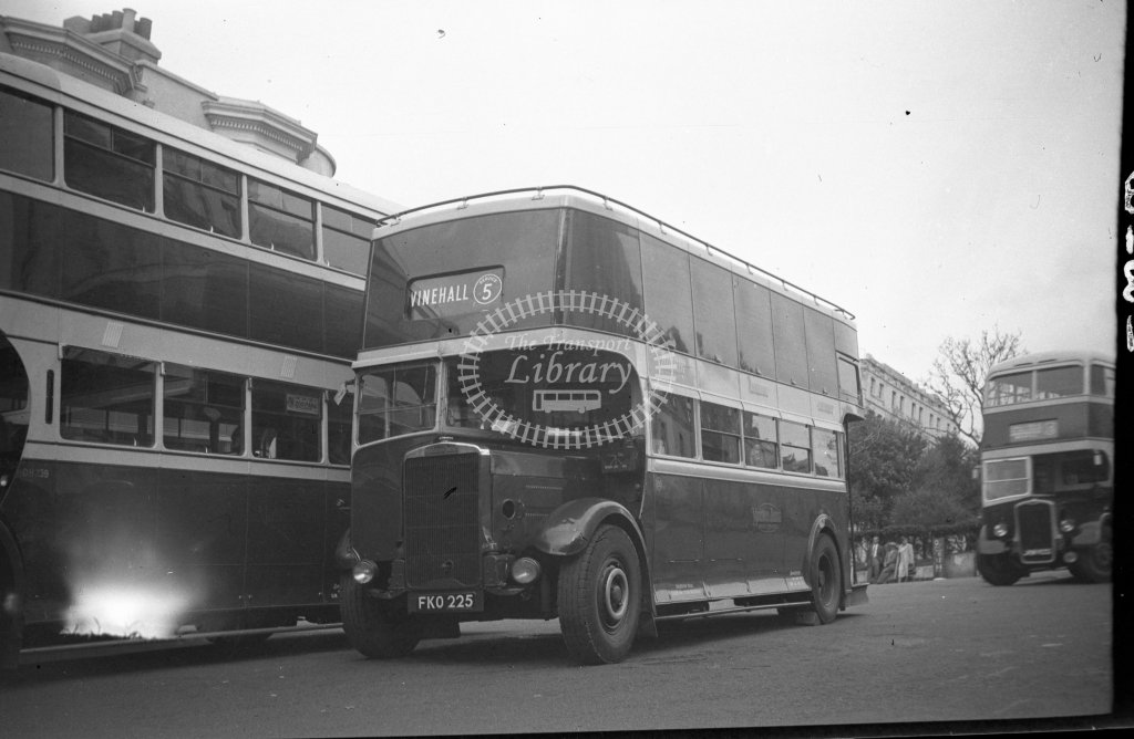 HL-B0181 - Maidstone & District FKO225 route 5 - Henry Luff - Online Transport Archive