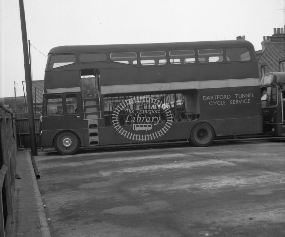HL-B0200 - Dartford Tunnel Cycle Service - side view of one of TT1-TT5 - Henry Luff - Online Transport Archive