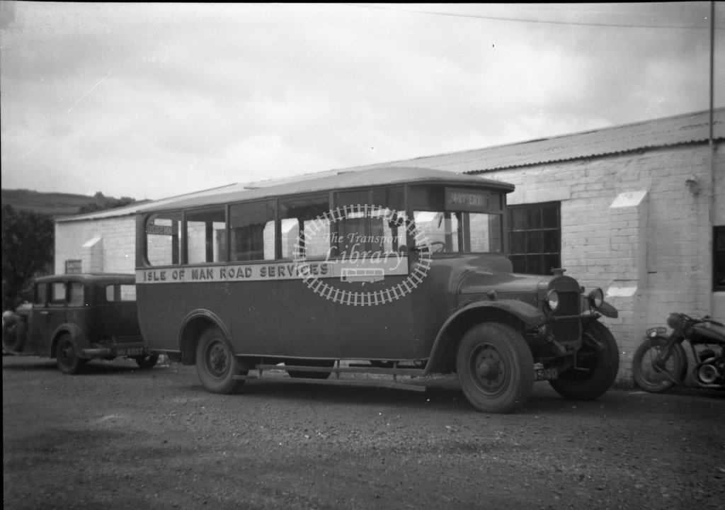 ME-B034 - Isle of Man Road Services 20 MN5020 - Thornycroft A2 14669 - Strachan & Brown B20F - Marcus Eavis - Online Transport Archive