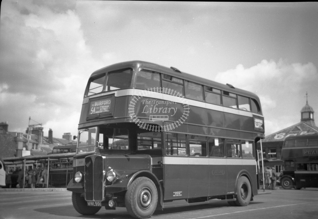 ME-B036 - City of Oxford Motor Services 357 MWL991 - route 54 - Gloucester Green, Oxford - Marcus Eavis - Online Transport Archive