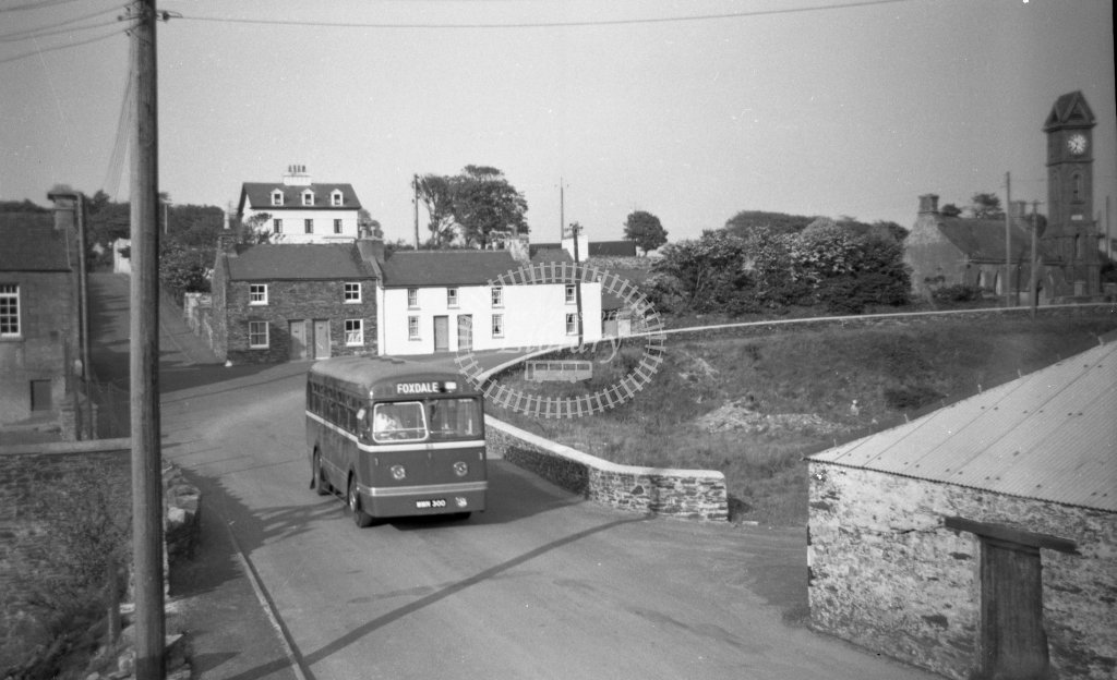 ME-B064 - Isle of Man Road Services 53 MMN300 Leyland HR40 with Weymann B40F body - Marcus Eavis - Online Transport Archive