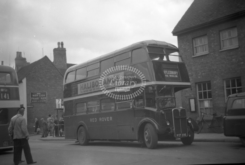 ME-B065 - Red Rover 8 FXT206 ex-London Transport RT31 - Marcus Eavis - Online Transport Archive