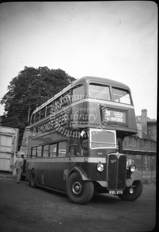 ME-B086 - City of Oxford Motor Services 342 MWL976 route 94 - Marcus Eavis - Online Transport Archive