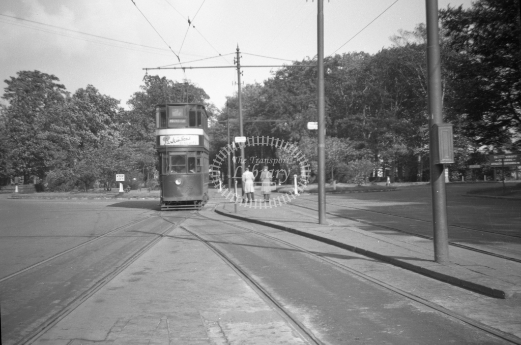 JT-T68 - Leeds 71 - route 3 - West Park (ring road) looking north - 16 September 1954 - Julian Thompson