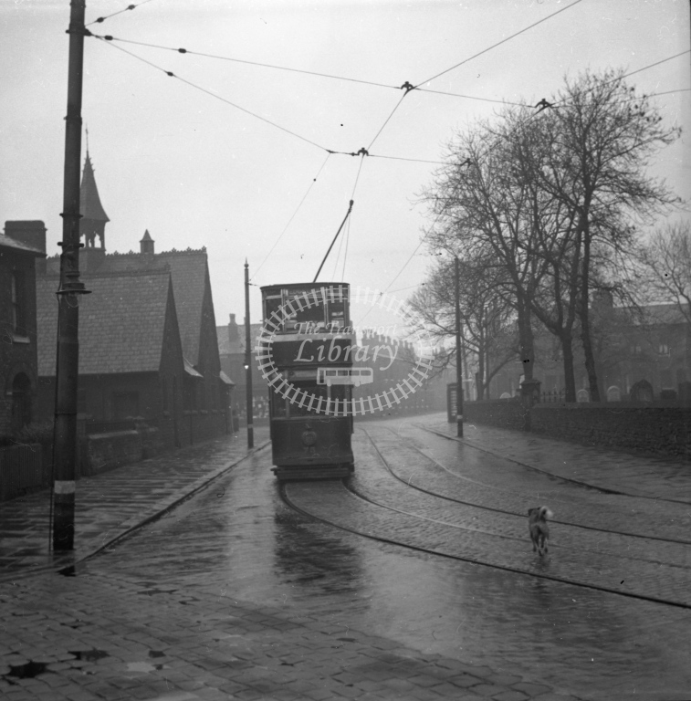 Meredith 96-3 - Stockport 75 St Paul?s Church 15 January 1950 - Online Transport Archive