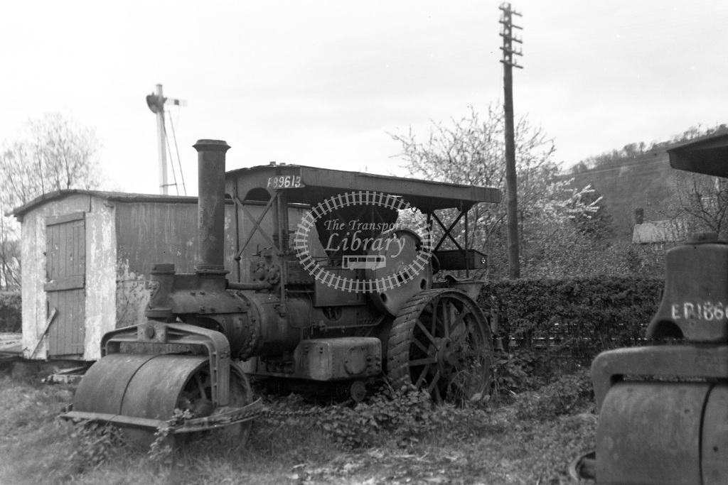Private Owner Traction Engine Class Garrett Road Roller b. pre-1924 33357  in 1951 -  13/05/1951  - Peter Gray