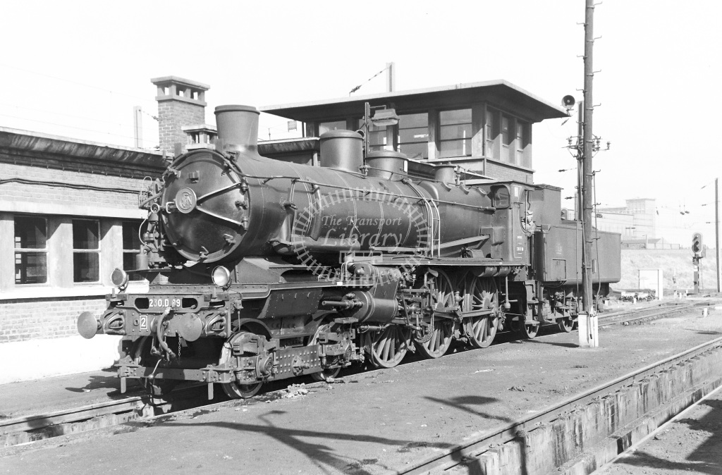 SNCF French Railways Steam Locomotive Class 230D 230 D 89  at Lille  in 1959 -  14/06/1959  - Peter Gray