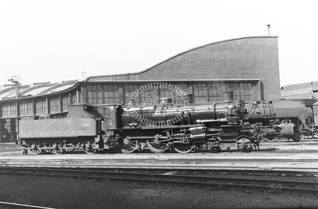 SNCF French Railways Steam Locomotive Class 230D 230 D 111  at Lille  in 1959 -  14/06/1959  - Peter Gray
