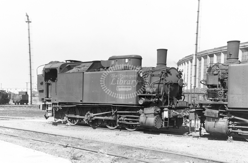 SNCF French Railways Steam Locomotive Class 040TG 040 TG 52  at Lille  in 1959 -  14/06/1959  - Peter Gray