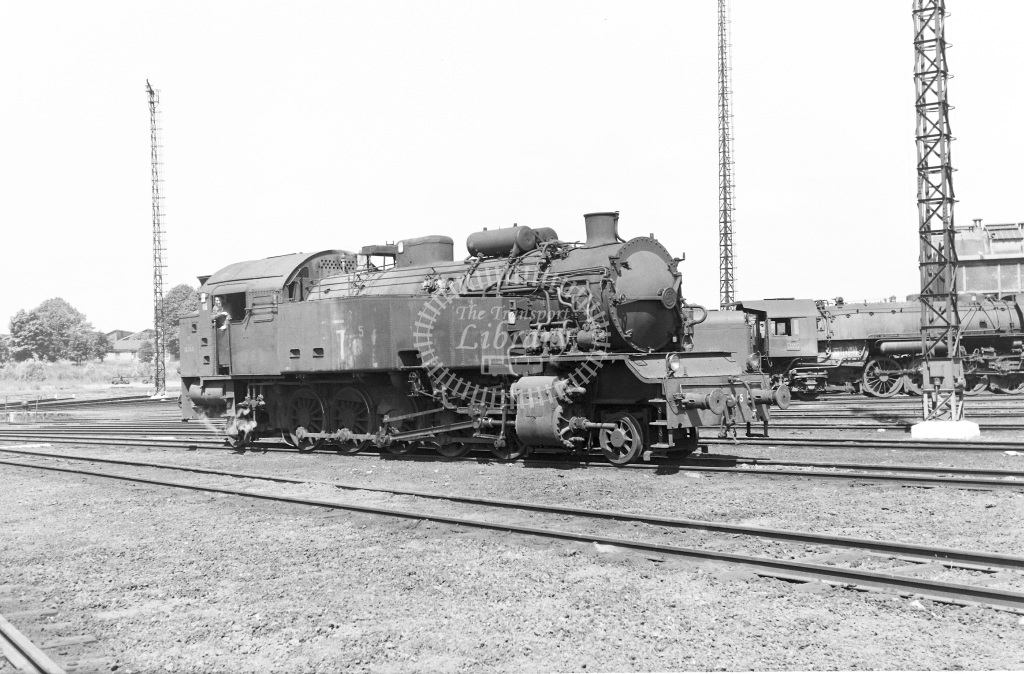 SNCF French Railways Steam Locomotive Class 151TA 151 TA 5  at Lille  in 1959 -  14/06/1959  - Peter Gray