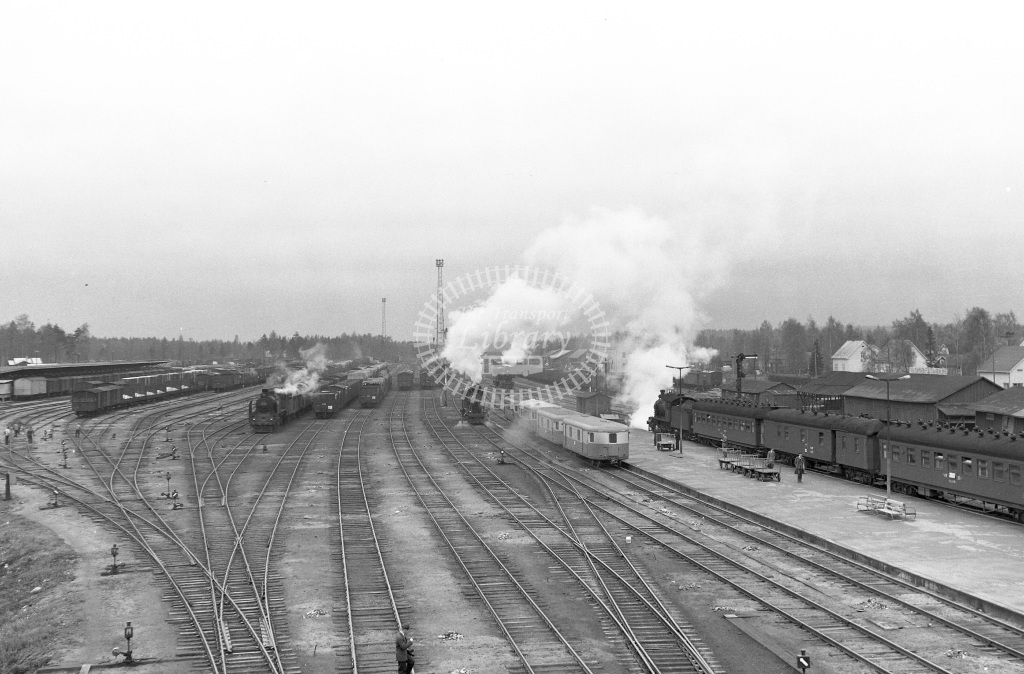 VR Finland Railways Scene  in 1962 -  01/05/1962  - Peter Gray