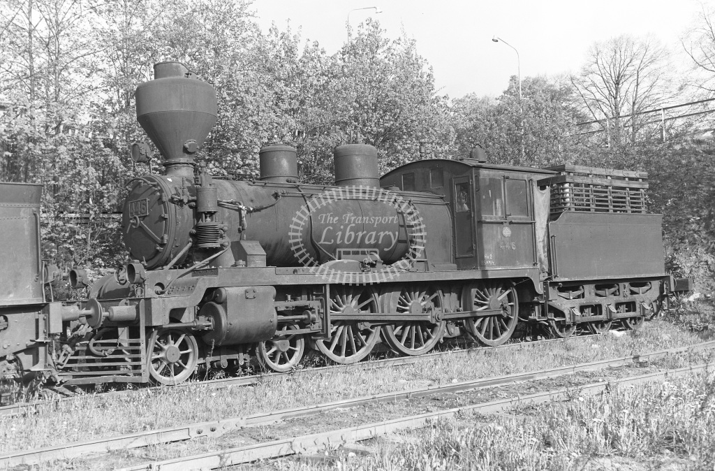 VR Finland Railways Steam Locomotive Class Vr Class Hk2 4-6-0 446  in 1962 -  01/05/1962  - Peter Gray
